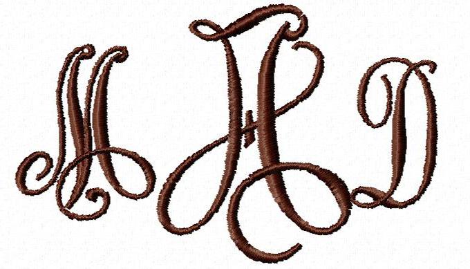 Victor Monogram Label